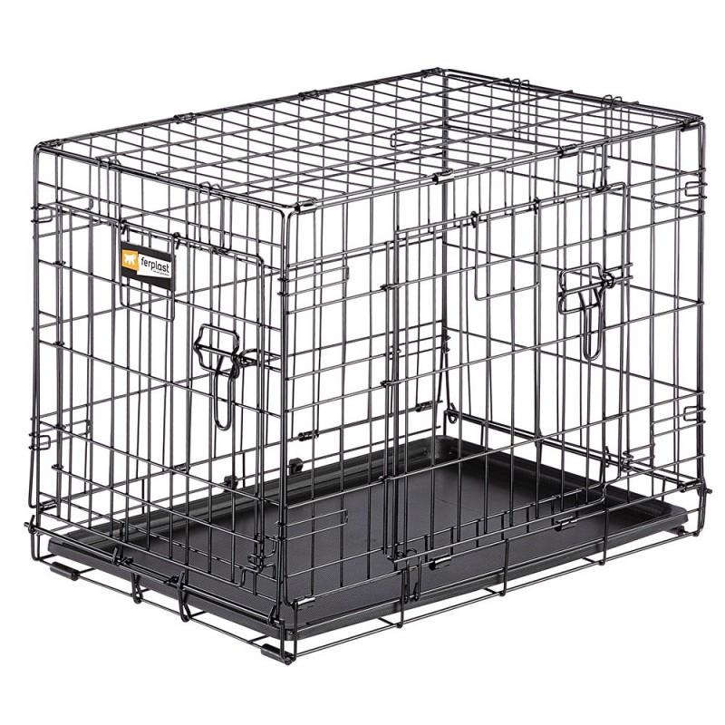 Ferplast Dog Inn метална клетка за...