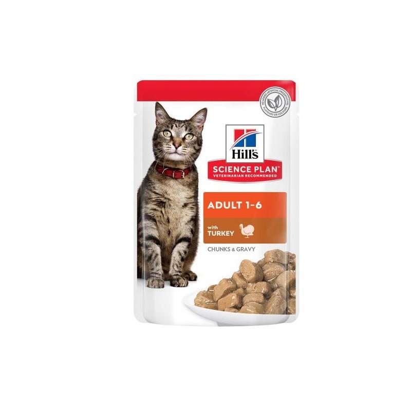 Hill's SP feline adult пауч хапки за...