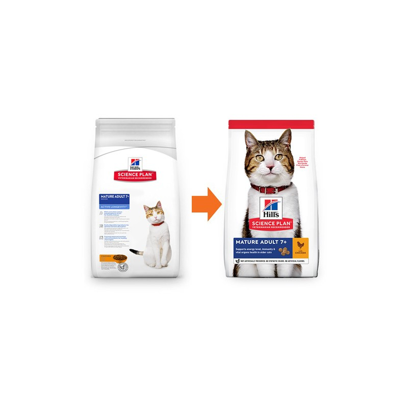 Hill's Science Plan 7+ храна за котки...