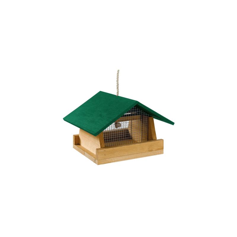 Feeder1 външна дървена хранилка за птици