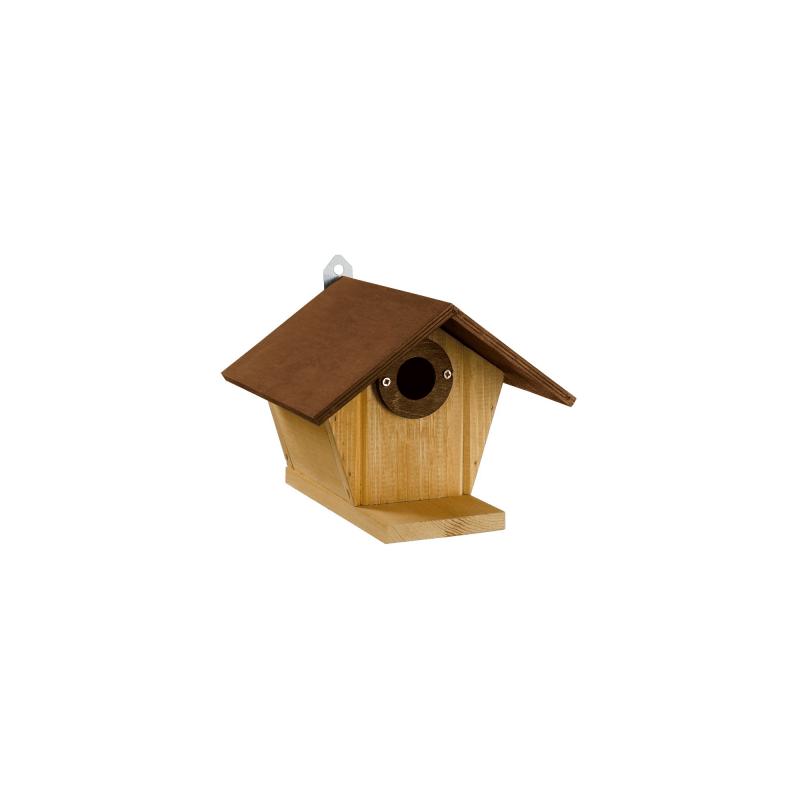 Nest 3 дървена къщичка за птици