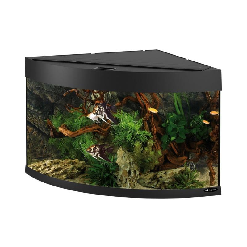 Оборудван ъглов аквариум DUBAI CORNER...