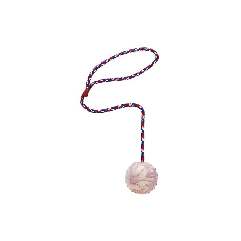 Играчка за куче – въже с топка – голяма