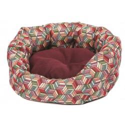 легло за куче с възглавница с две лица леглото за куче е и с противоплъзгащ плат на дъното