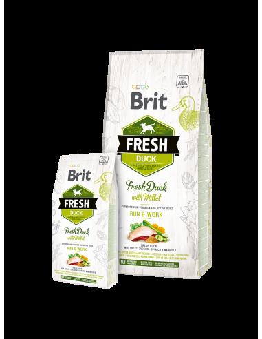 Суха храна за кучета Brit Fresh за...