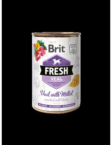 Консерва за кучета Brit Fresh с...