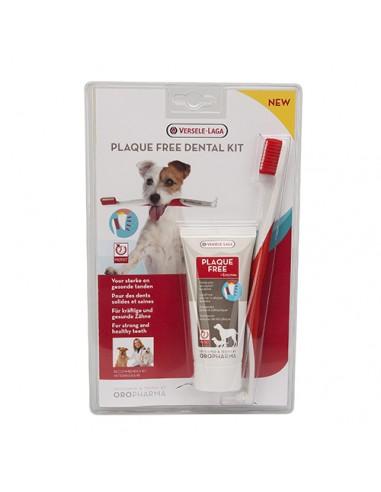 Комплект паста и четка за зъби за куче