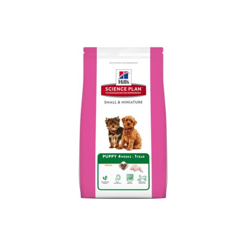 Храна за кученца до 1г от мини...